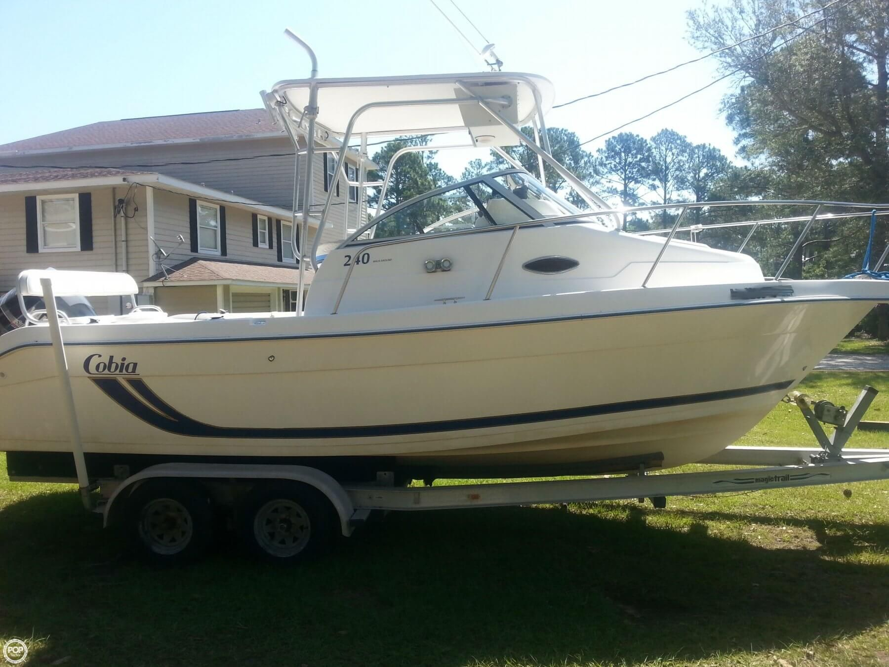 240 Walkaround Boats For Sale Hydraulic Steering Boat