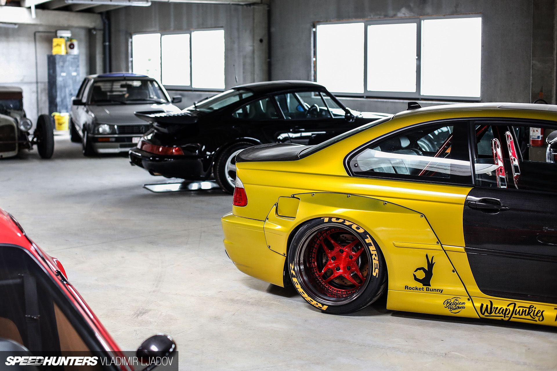 Inside The Kean Suspensions Garage Speedhunters Wide Body Kits Honda Legend Air Ride
