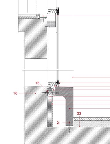 Working Detail Nottingham Contemporary by Caruso St John arch - best of blueprint architecture nottingham