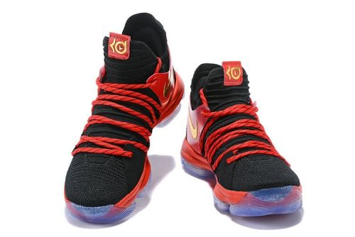 df968936972 How To Buy 2018 KD X NIKE University Red Black Metallic Gold University Red-Bright  Crimson