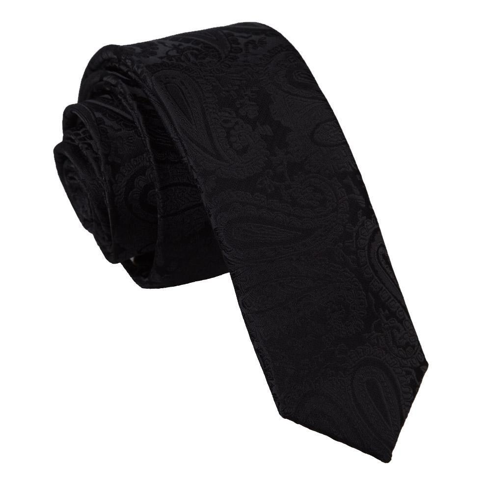 Paisley Skinny Men's Tie