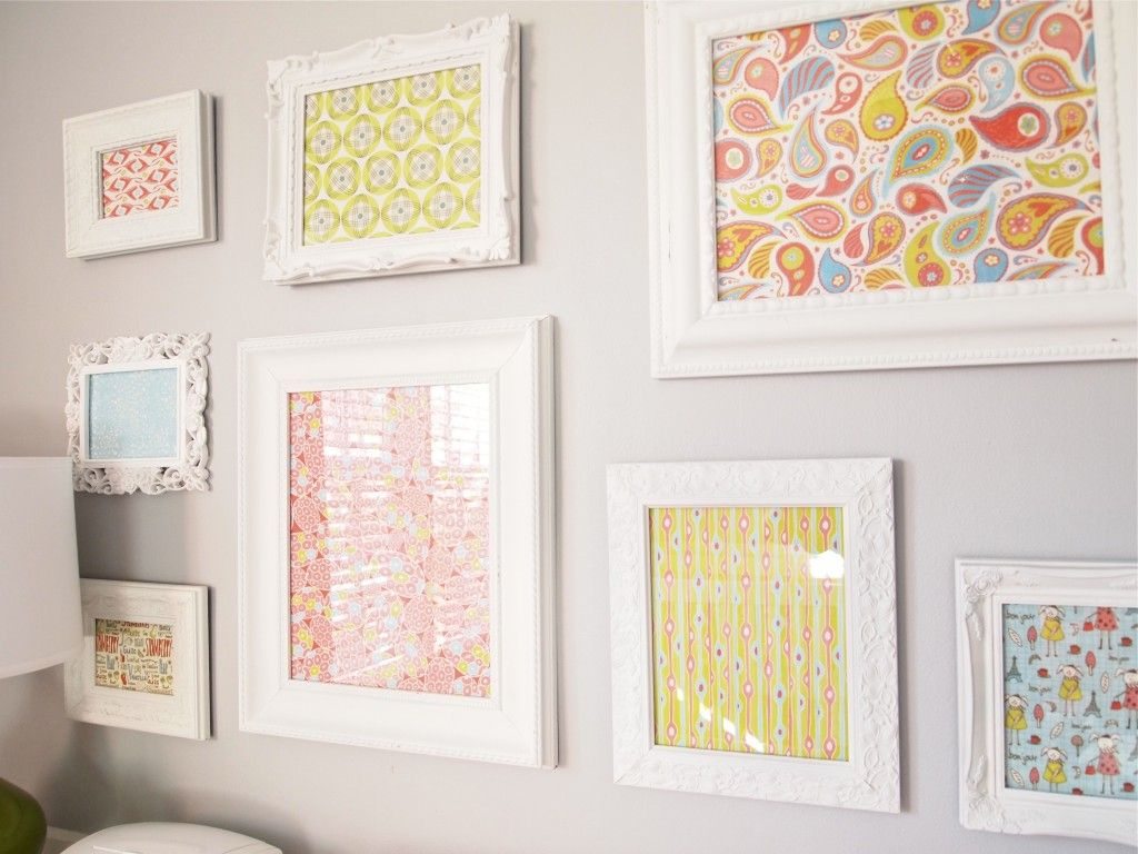 5 Wall Decorating Ideas For The Nursery Fabric Wall Art Framed