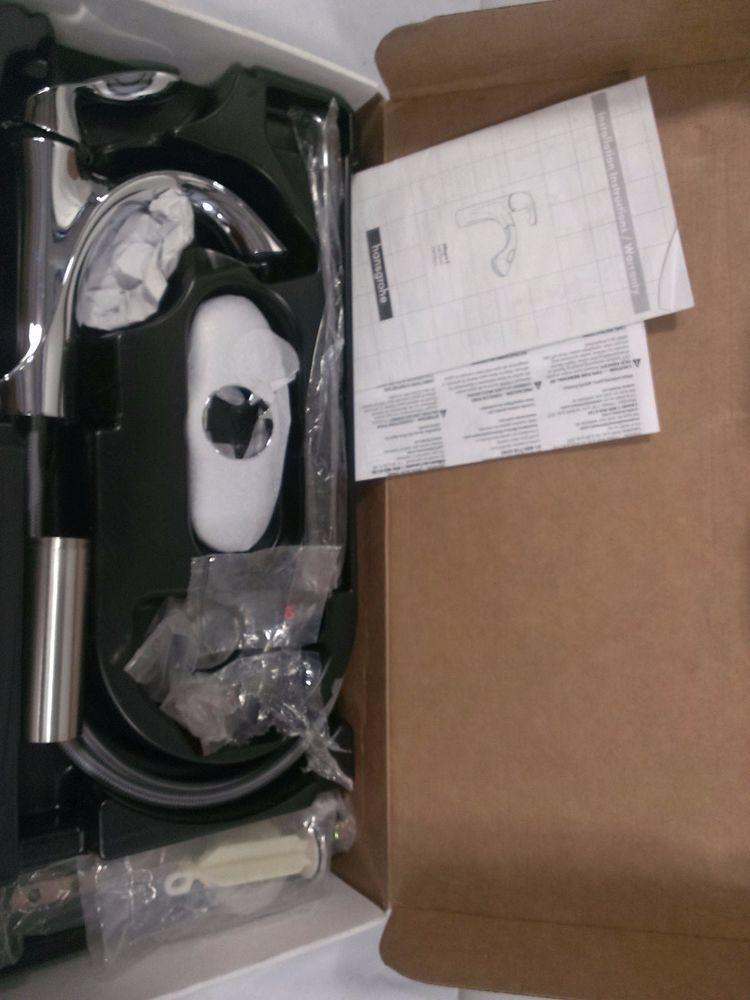 moen 6400 EVA One-Handle High Arc Bathroom Faucet Chrome #Moen | H&H ...