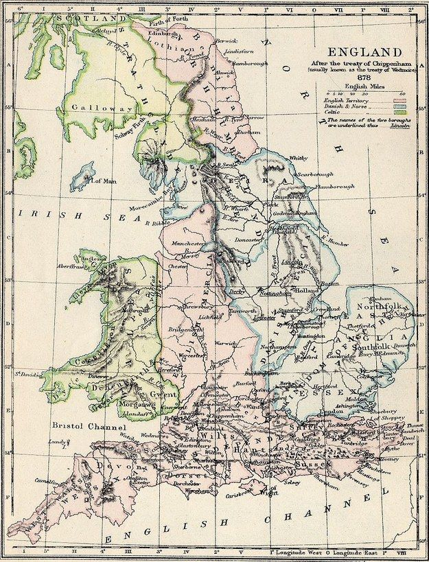 Map Of England In 9th Century.21 Maps That Will Change How You Think About Britain Cool Things