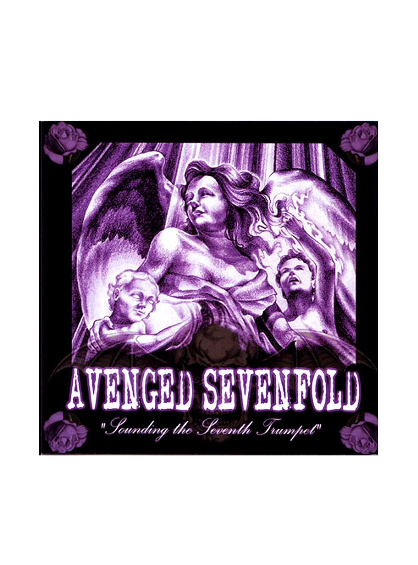 Avenged Sevenfold Sounding The Seventh Trumpet Vinyl Lp Hot