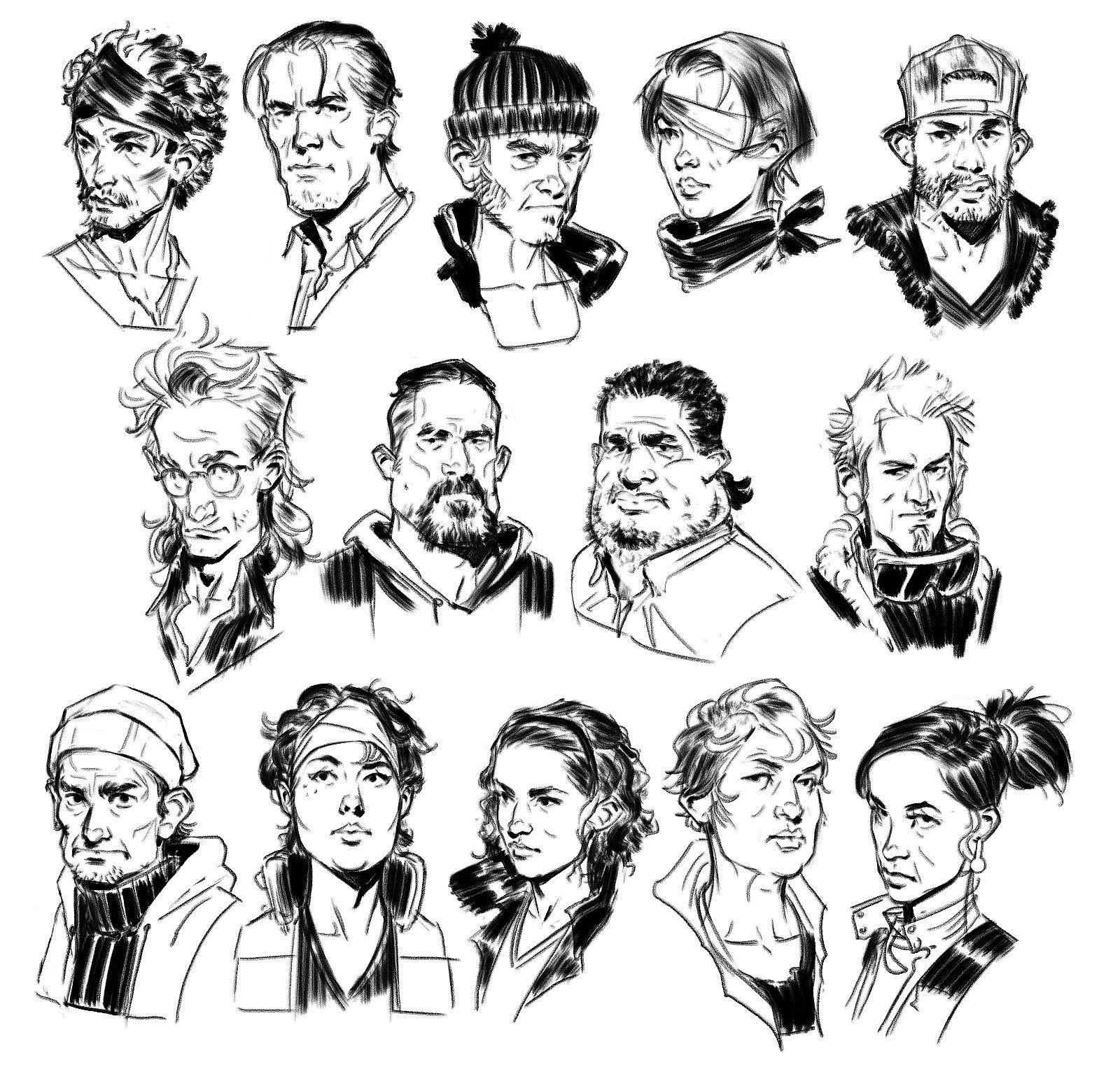 Artstation The Walking Dead Michonne John Grello Comic Book Art Style Comic Drawing Character Design Animation