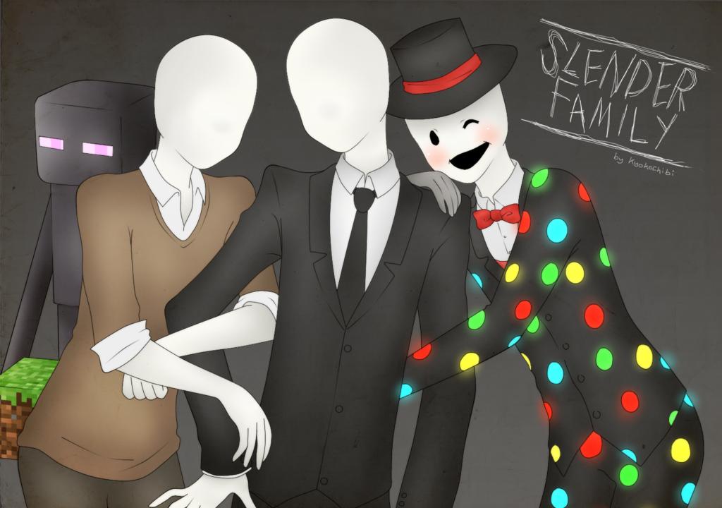 картинки крипипаста слендермен и его братья кусочек нормальная