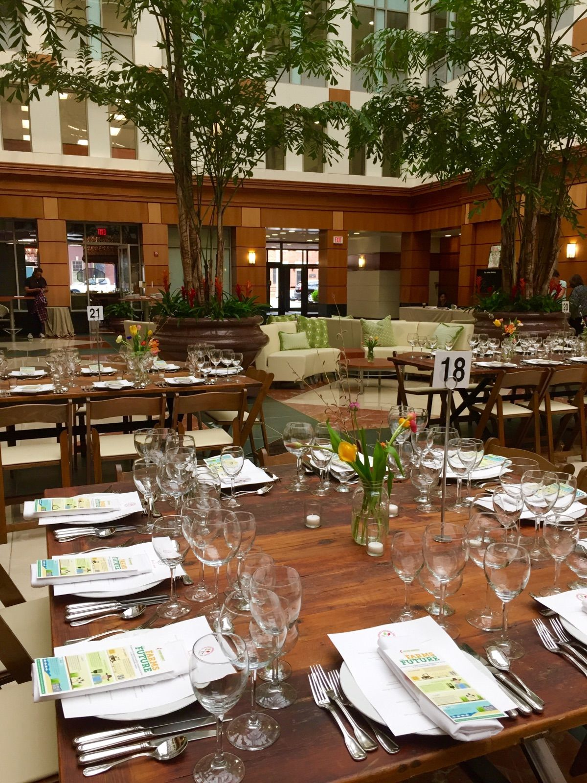 Rustic Farm Tables For Foodshed Feast At Society Fair Private Event Old Town Alexandria