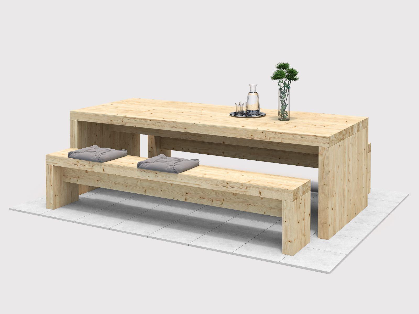 Tisch Bruno Create By Obi Tisch Selber Bauen Sitzbank Selber Bauen Holztisch Mit Bank