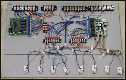 Protection Panel Wiring II 3488 | MR~ DCC | Pinterest | Model ...
