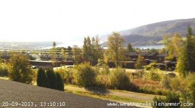 Skjaak, Norway | Webcam Lillehammer, Nordre al (Norway) | Daylight picture.