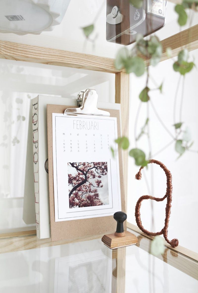 #calendar #tyougrapgy #a #styling Interior design & styling © by MyDeer.nl