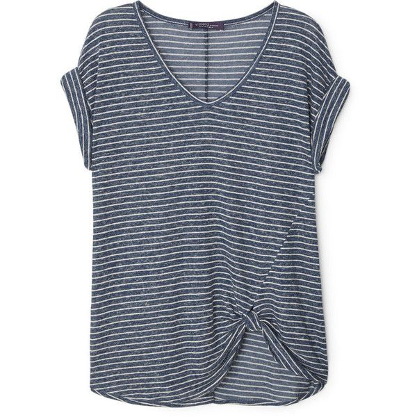 Sale Top Quality Cost MANGO Knotted linen t-shirt FGjVb1tm