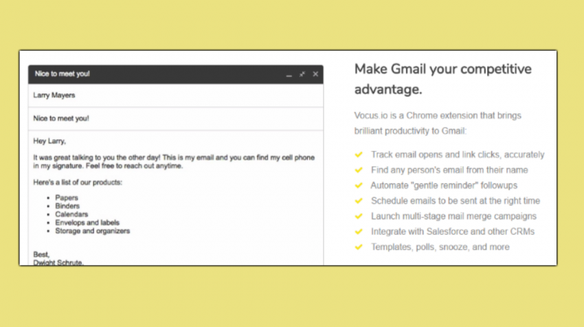 Want To Keep Better Track Of Your Email VocusIo Is A Google