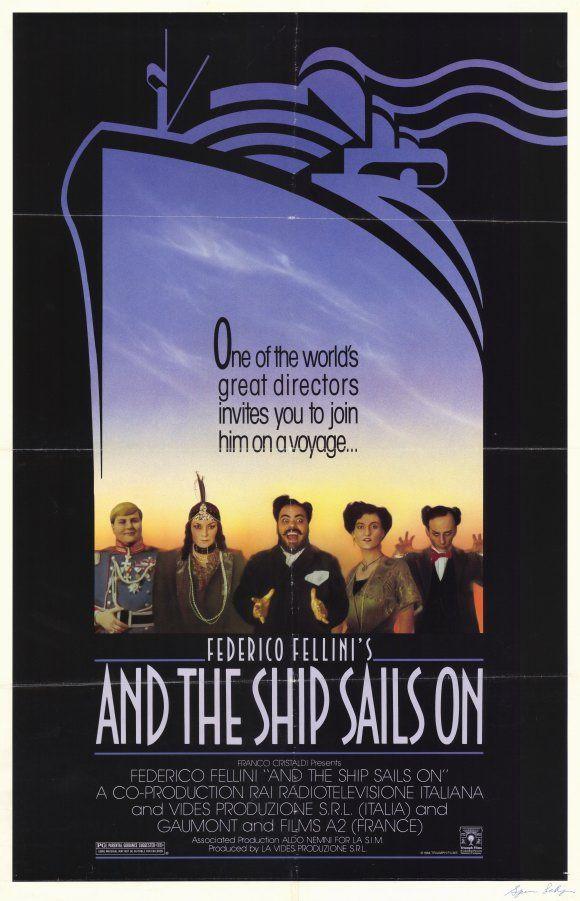 Αποτέλεσμα εικόνας για And the Ship Sails On