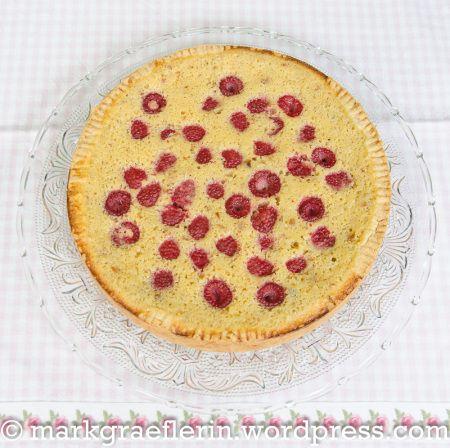 Buttermilchkuchen Himbeeren 3