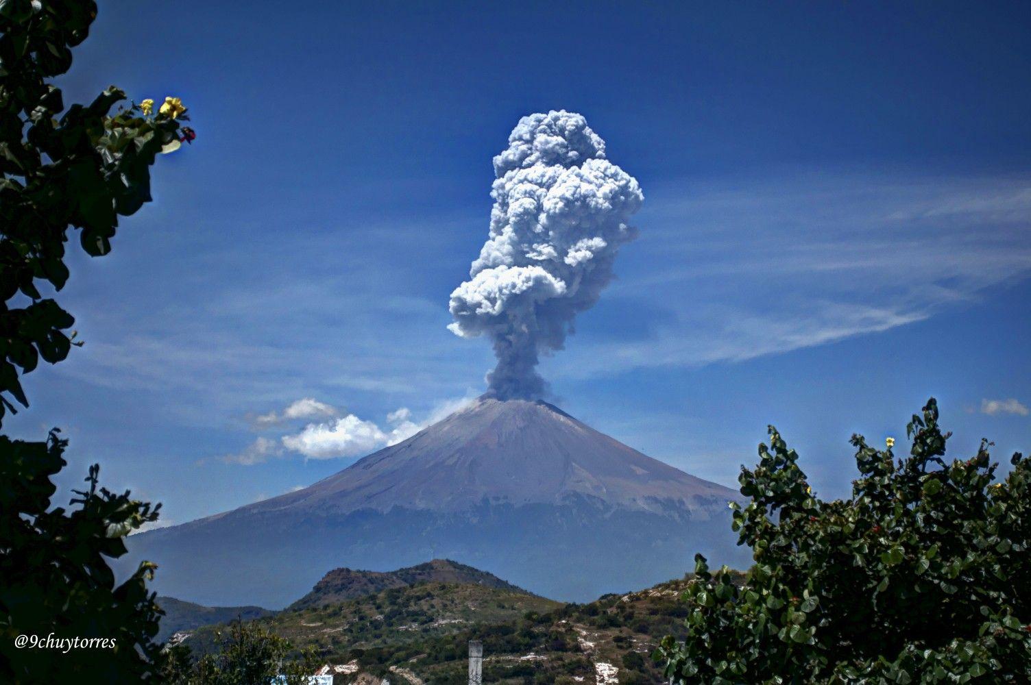 Popocatépetl 7 octubre 2015 en 2020   Volcán popocatepetl ...