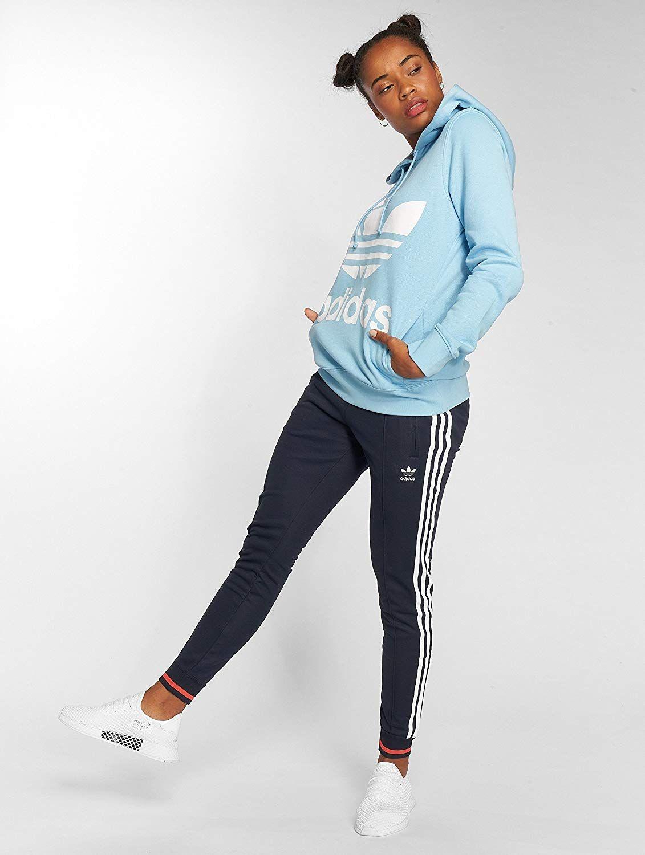 Adidas Kapuzenpulli für Damen. Regulär geschnitten, Bündchen