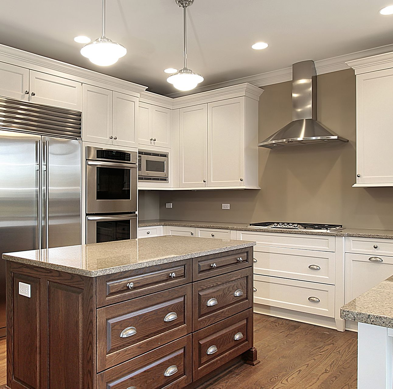 White Kitchen Ideas Kitchen Design Color Kitchen Design Dark Kitchen Cabinets