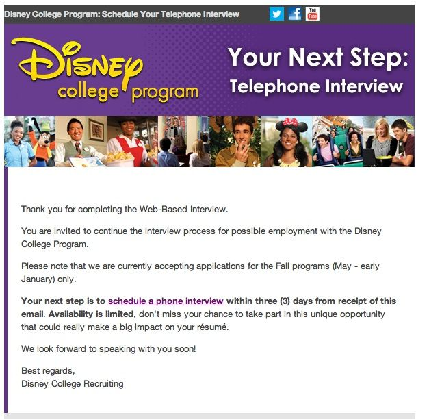 Ever wondered what the process is for applying to the Disney College