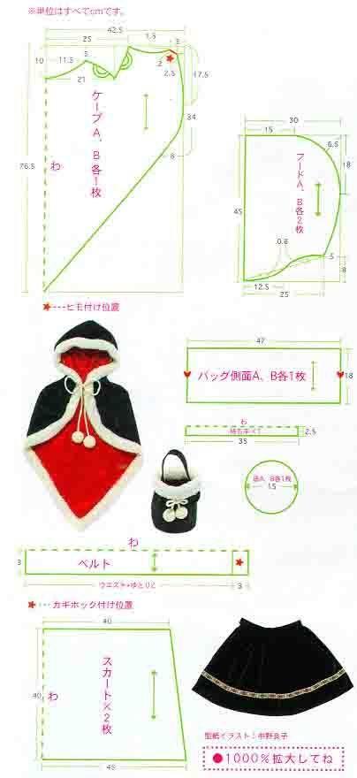 Basic top, a cape pattern http://blog.naver.com/PostThumbnailView ...