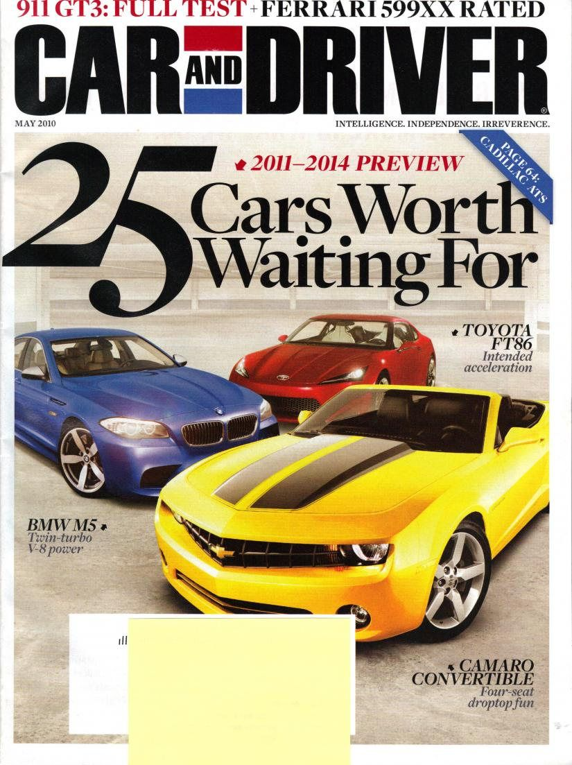 car magazines | Car & Driver magazine cover | Design Inspiration ...