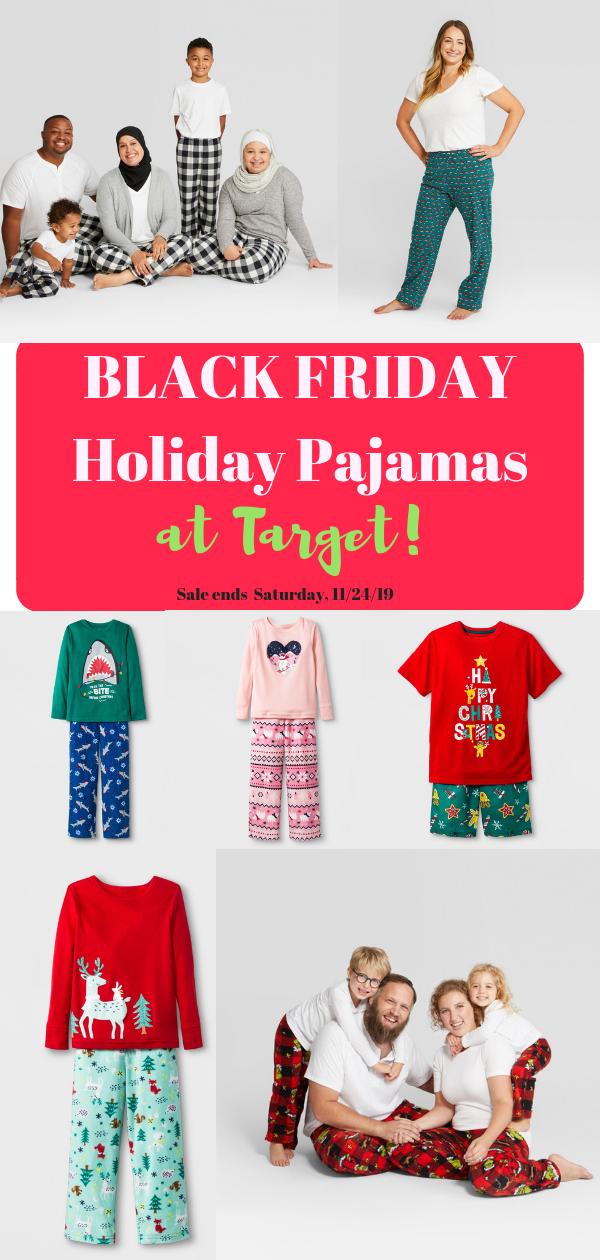 TARGET'S BLACK FRIDAY SALE Family pajamas, women's