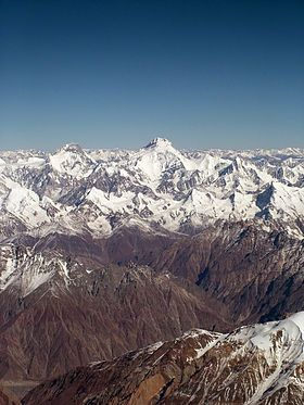 Kanjut Sar Wikipedia The Free Encyclopedia Karakoram Mountains Himalayas Gilgit Baltistan