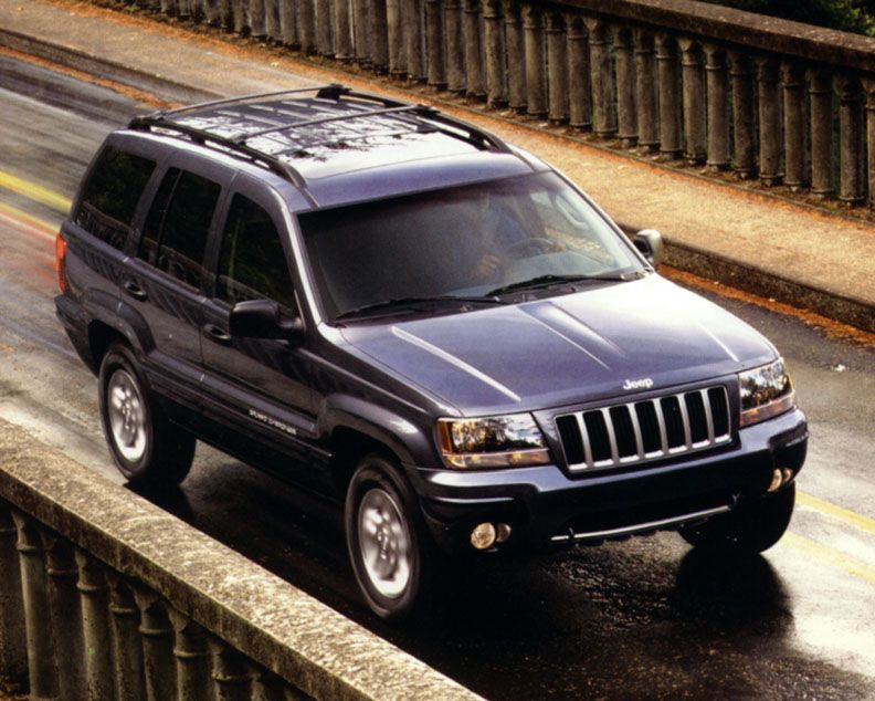 12++ Grand cherokee 2004 limited edition trends