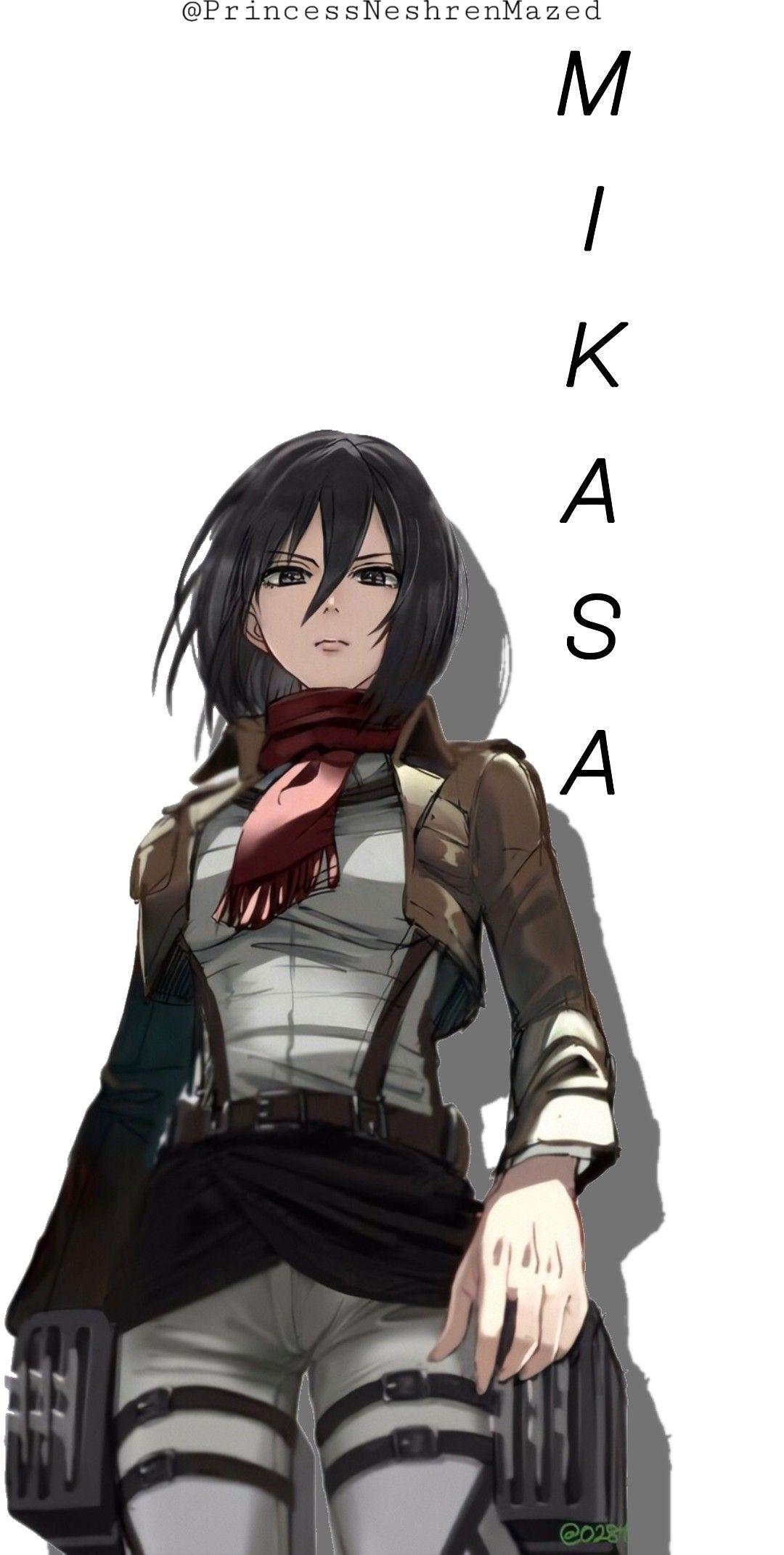 Mikasa Ackerman Wallpaper Di 2021 Ilustrasi Karakter Gambar Anime Ilustrasi