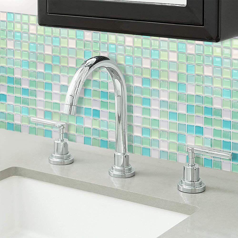 Yoillione Peel and Stick tiles Kitchen Tile Wallpaper ...