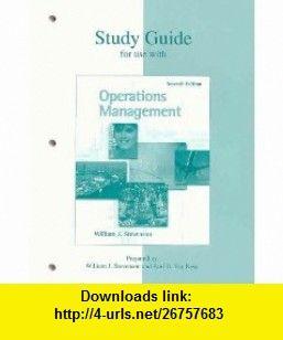 Production Operations Management Stevenson Pdf