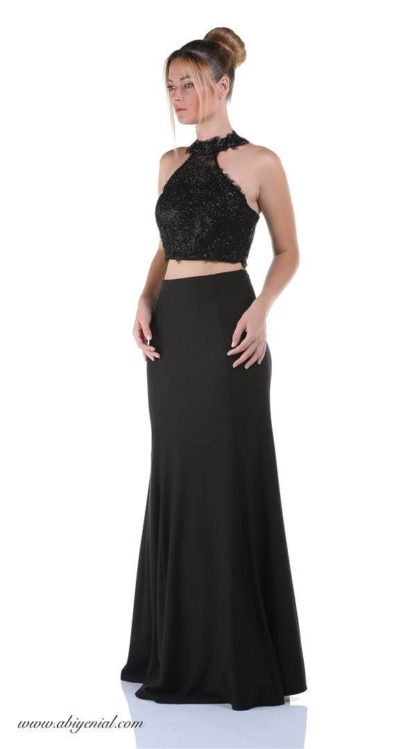 Ikili Abiye Siyah The Dress Moda Stilleri Balo Elbiseleri