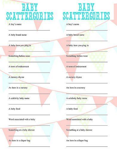 61 Best Baby Shower Games Ideas Baby Shower Games Baby Shower Shower Games