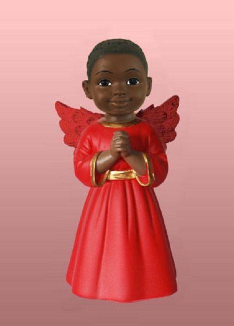 Cherub: Prayer Boy in Red