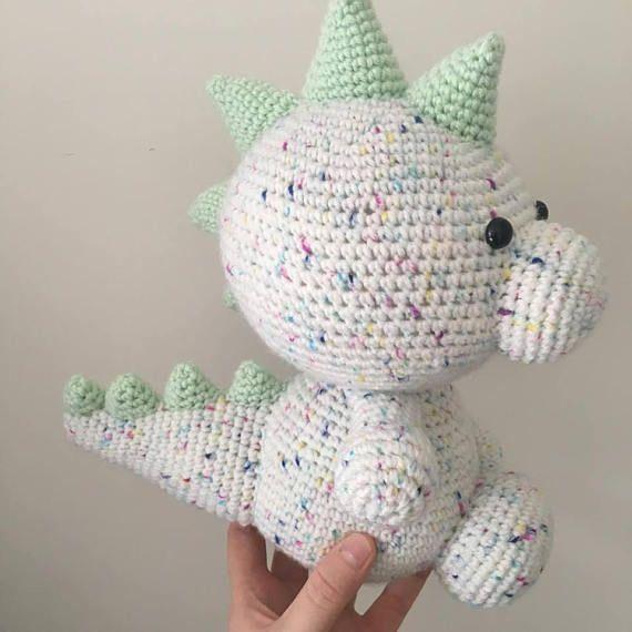Dexter the Dinosaur Crochet PATTERN, dinosaur crochet PATTERN ...