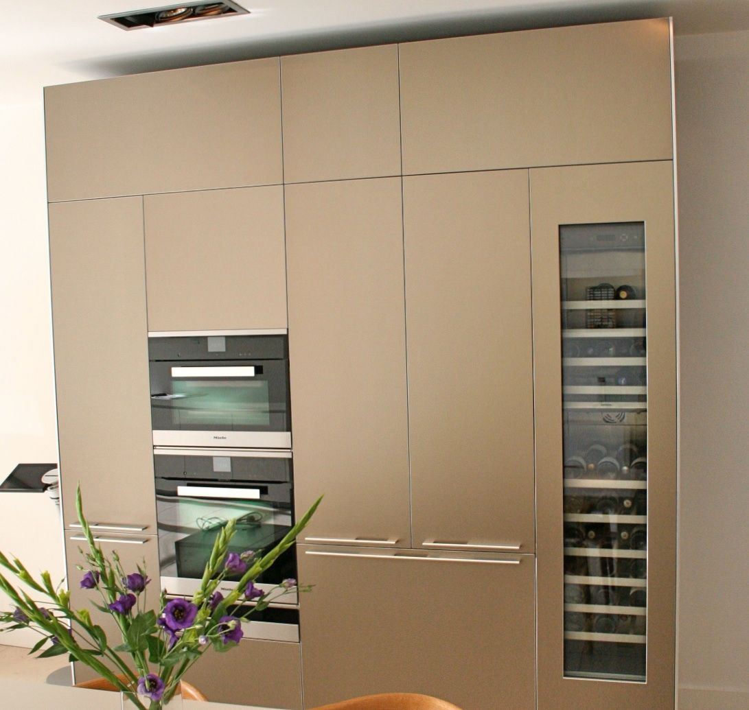 Would Like This Bulthaup Sand Beige Aluminium Finish With
