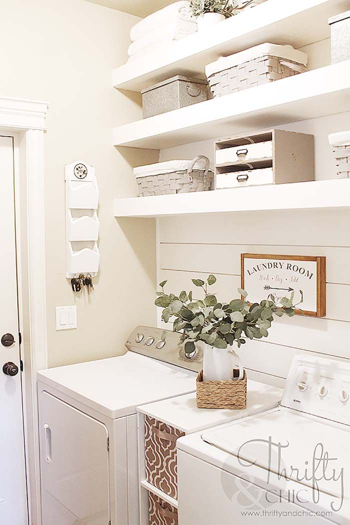 Photo of 35 Clever ways to create functional and stylish small laundry rooms