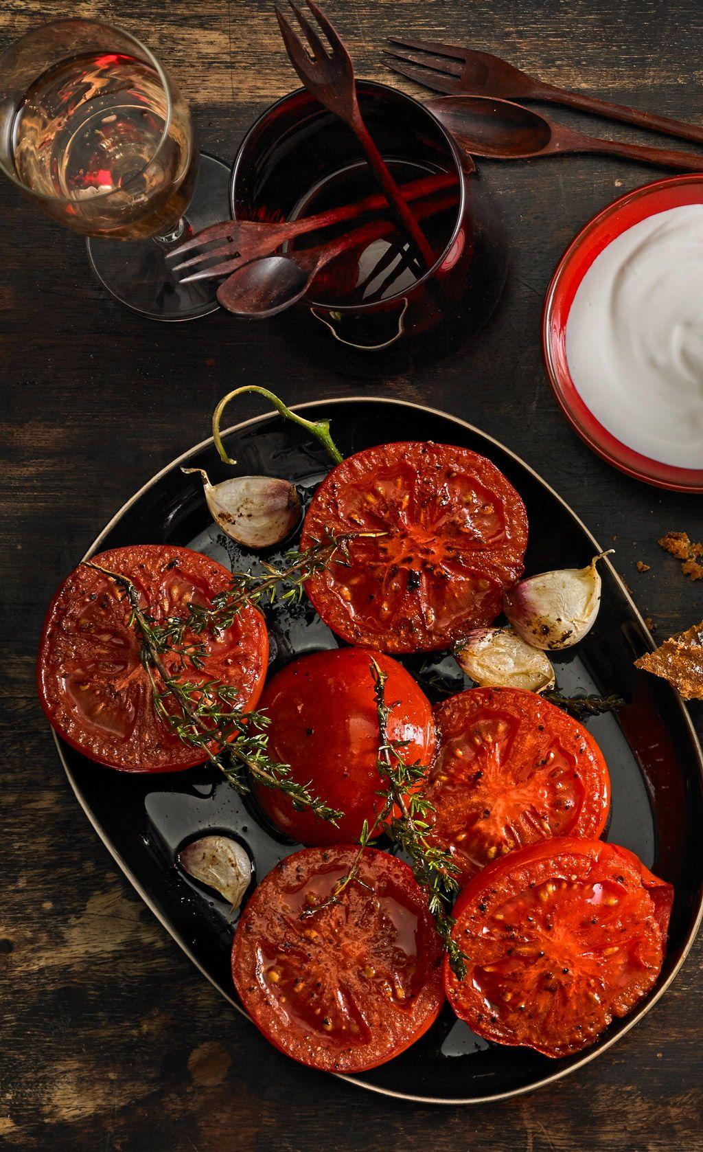 Knoblauchtomaten   Pinterest   Spanische Küche, Spanisch und ...