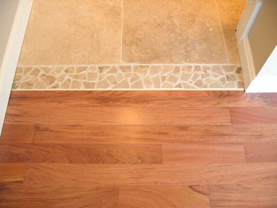 Tiling Bathroom Door Threshold threshold between tile and wood - google search | interior design