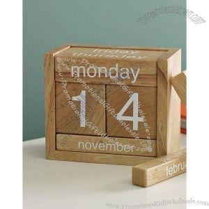Wooden Block Perpetual Calendar Wooden Perpetual Calendar China