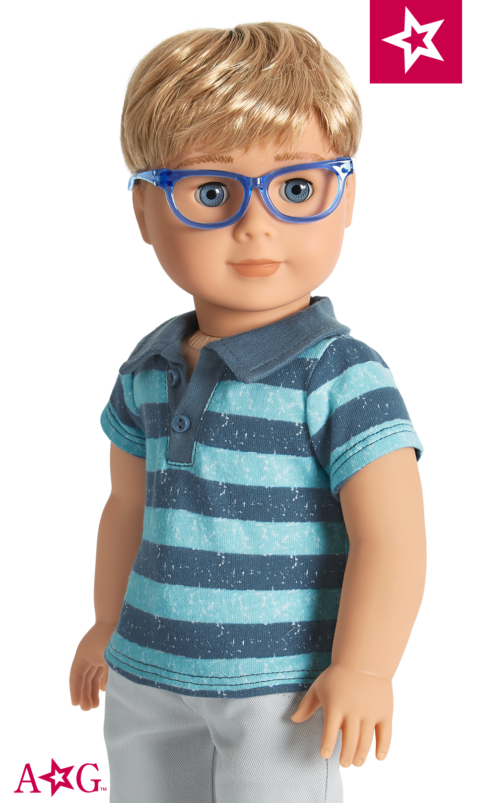 """18/"""" Dolls Clothes Blue Goggles For American Girl Doll Our Generation Journey"""