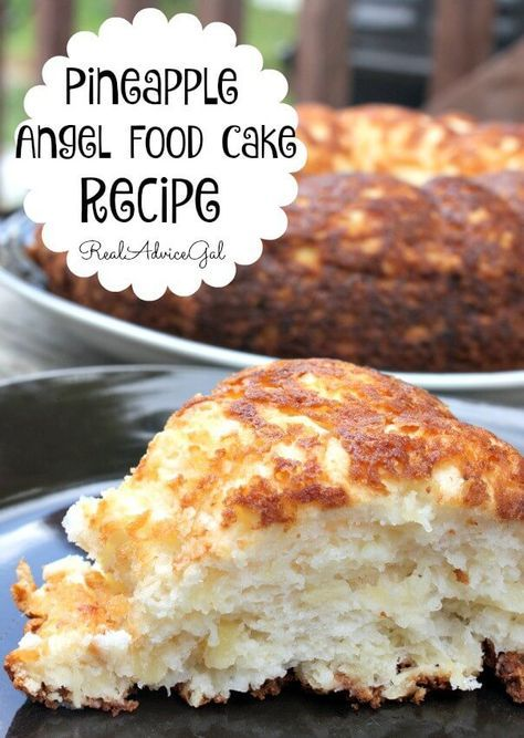 With this pineapple angel food cake recipe you can finally you can light airy and so delicious pineapple angel food cake recipe only 4 weight watchers points plus per serving forumfinder Image collections