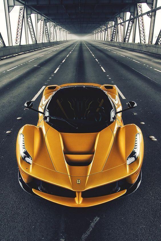 Seductive gold LaFarrari | 10 of the Greatest Ferrari's ever made.