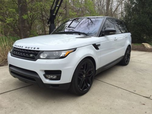 Land Rover Range Rover Sport White Craigslist Cars For Sale - 2016 sports cars for sale