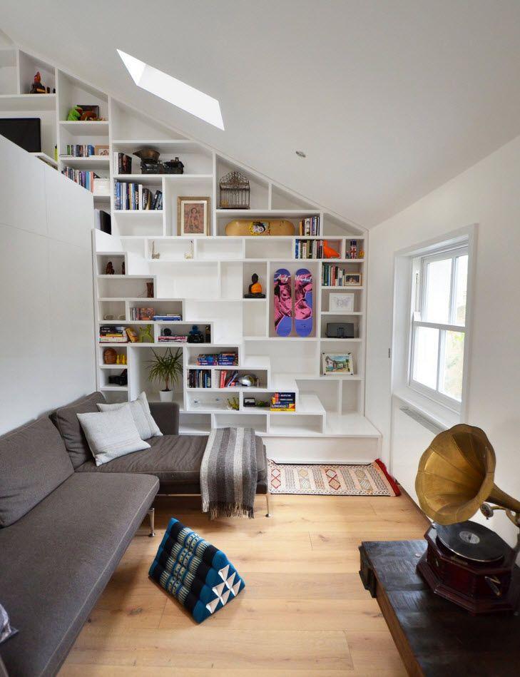 10 formas de organizar espacios peque os casa y for Diseno de apartamento de una habitacion