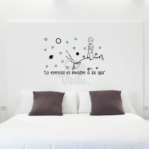 Vinilo decorativo para pared principito frase - Vinilo de pared decorativos ...
