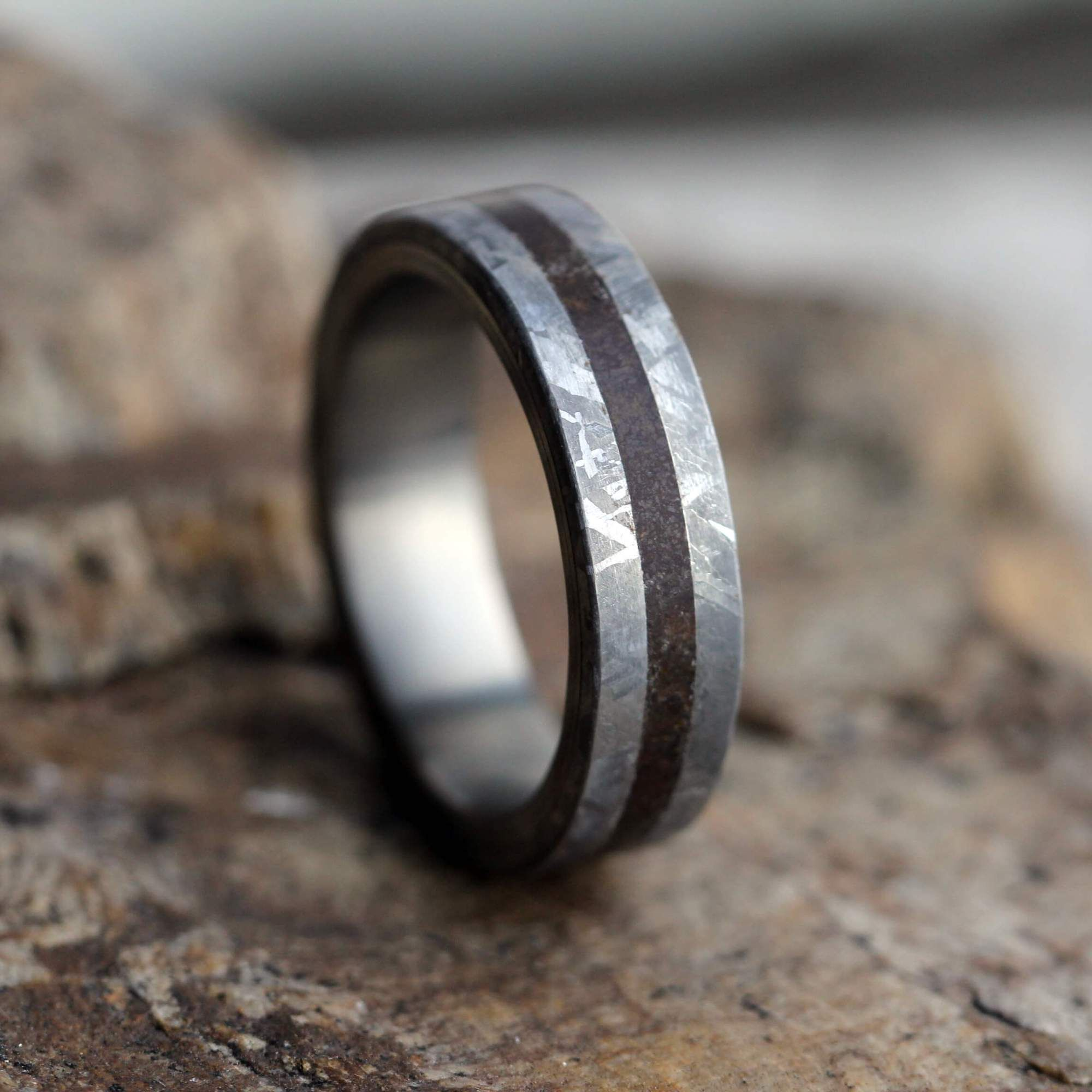 junction sets source new engagement band hd com image wood antlerrings wedding petrified from antler rings