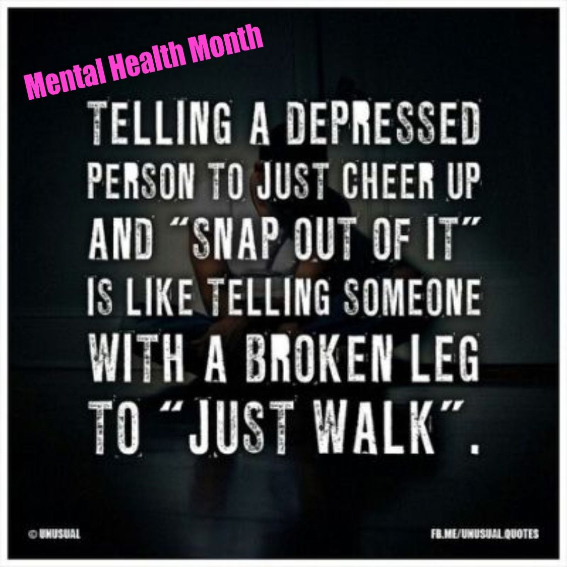 Pin On Mental Health Month