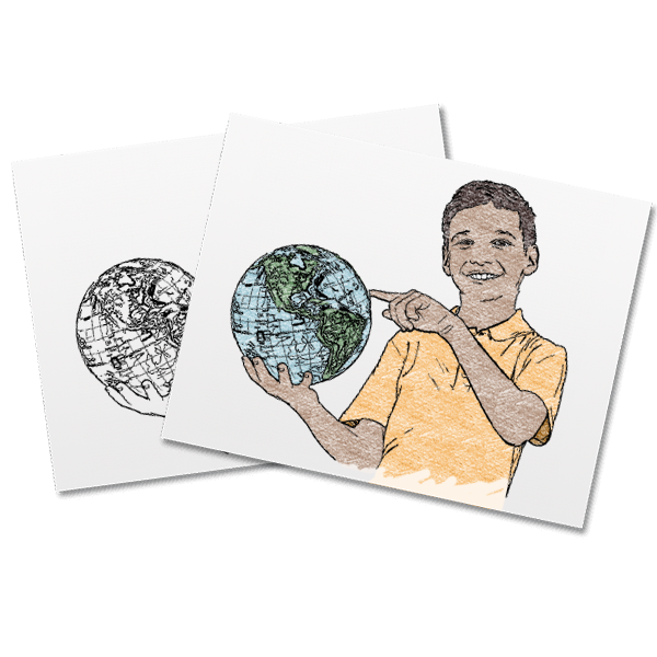 Convert Photos To Coloring Pages Coloring Pages Coloring Books Embroidered Portrait